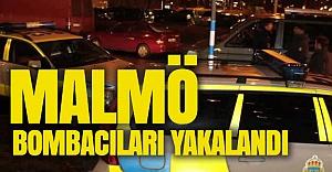 Malmö bombacıları yakalandı
