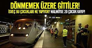 Malmö'de 20 çocuk kayboldu!