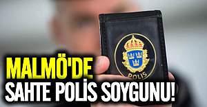Malmö'de sahte polis soygunu