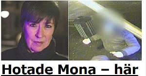 Mona Sahlin'i açıktan ölümle tehdit etti...VİDEO