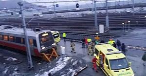 Norveç güne tren kazasıyla başladı!