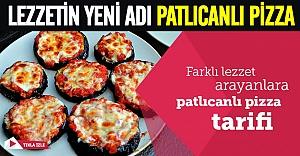 Patlıcanlı pizza modası mı başlıyor?