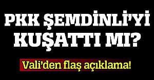 PKK'lı terörist grubun Şemdinli'ye geldiği iddiası