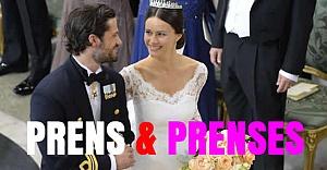 Prens ve yeni prenses büyüledi