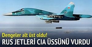 Rusya, Suriye'de CIA üssünü vurdu