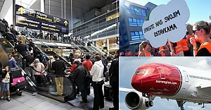 SAS'ın kabin çalışanları grev yapınca binlerce yolcu perişan oldu!
