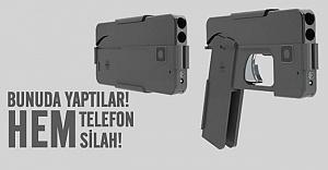 Silaha dönüşebilen telefon yaptılar