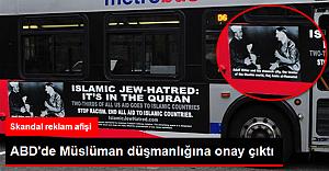 Sınırı aştılar, skandal reklam afişi!