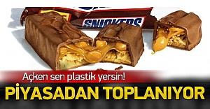 Skandal çikolatalar insanlara plastik yedirdiler!