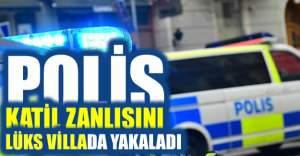 Södertälje cinayeti zanlısı villada yakalandı