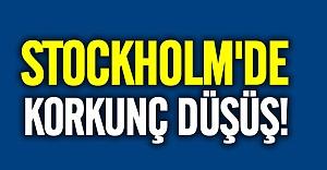 Stockholm'de bir kişi 6. kattan düştü
