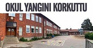 Stockholm'de okul yangını