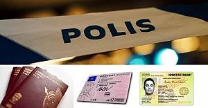 Stockholm'de sahte pasaport, kimlik ve ehliyet yapan çete çökertildi