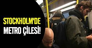 Stockholm metrosunda kaos!