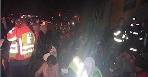 Kaos Trenler çarpıştı 2 ölü en az 250 yaralı