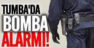 Tumba'da bomba alarmı, tren seferleri duracak