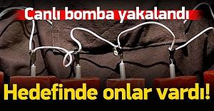 Türkiye'de 2 canlı bomba yakalandı