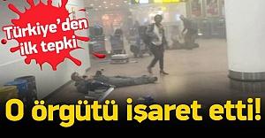Türkiye'den Brüksel saldırısına ilk tepki!