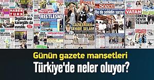Türkiye: Gazete manşetleri 29.07.2015