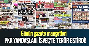 Türkiye: Gazete manşetleri 31.07.2015