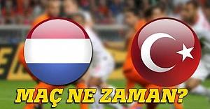 Türkiye için tek hedef Hollanda'yı yıkmak!