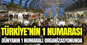Türkiye'nin 1 numarası Dünyanın 1 numaralı organizasyounda