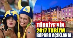 Türkiye'nin 2017 Turizm İstatistik Raporu açıklandı