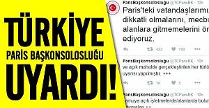 Türkiye'nin Paris Başkonsolosluğu'ndan uyarı