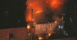 Üç müslüman gencin öldürülmesini park kavgasına, İslam Ensitüsü yangını evsize yıktılar!