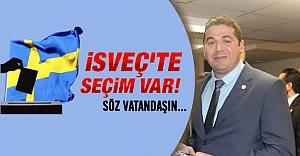 UETD İsveç Başkanı Eker, vatandaşı sandığa davet etti