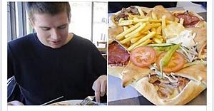 ''Vulkan Pizza'' İsveç'i salladı...VİDEO