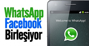WhatsApp Facebook ile birleşecek