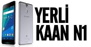 Yerli telefon KAAN N1'in fiyatı açıklandı