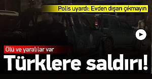 Yurtdışında Türk işyerine saldırı 2 ölü 2 yaralı