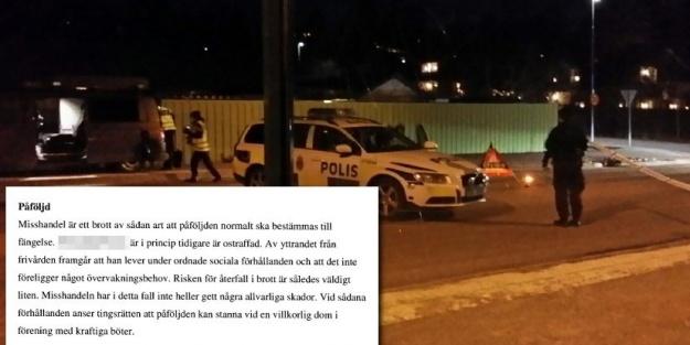 Tullinge'de trafik tartışmasında, 21 yaşında ki genci öldürenin cezası!