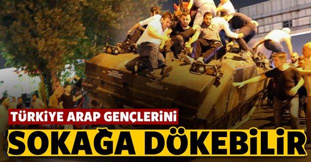 Türkiye Arap gençlerini sokağa dökebilir!