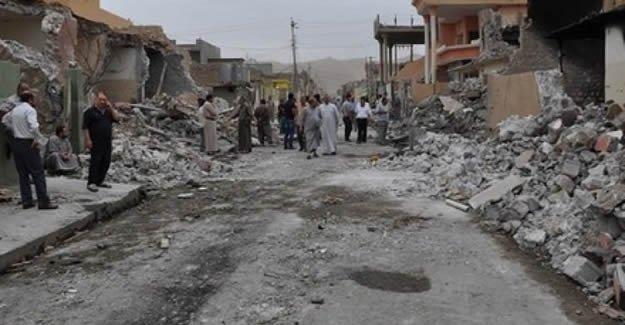 Türkmen Köyü'ne bombalı saldırı