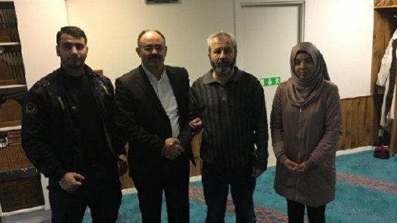 UETD ve İsveç İslam Federasyonundan saldırıya uğrayan mescide ziyaret