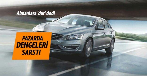 Volvo, Almanlara dur dedi