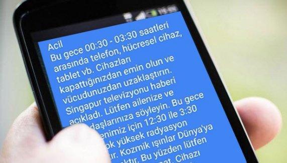 Whatsapp'taki telefonunuzu kapatın mesajı yalan çıktı