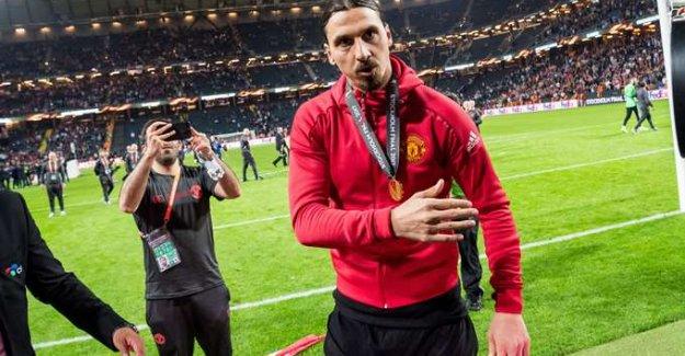 Zlatan Ibrahimovic, Manchester United'ı bıraktı