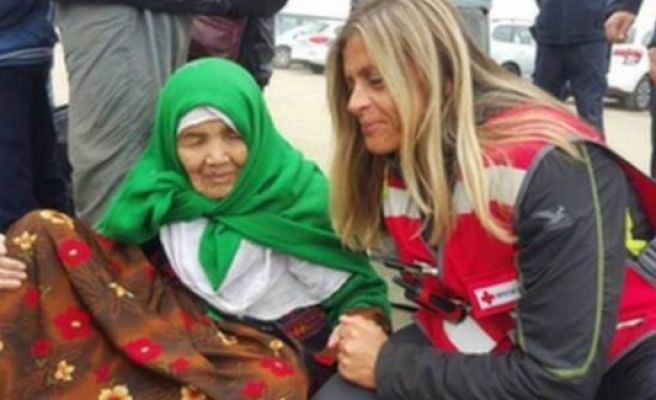 105 yaşında ki sığınmacının gitmek istediği ülke İsveç!