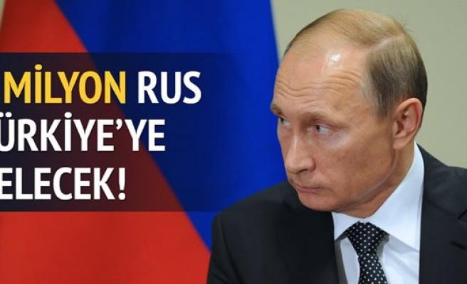 1 milyon Rus mecburen Türkiye'ye gelecek