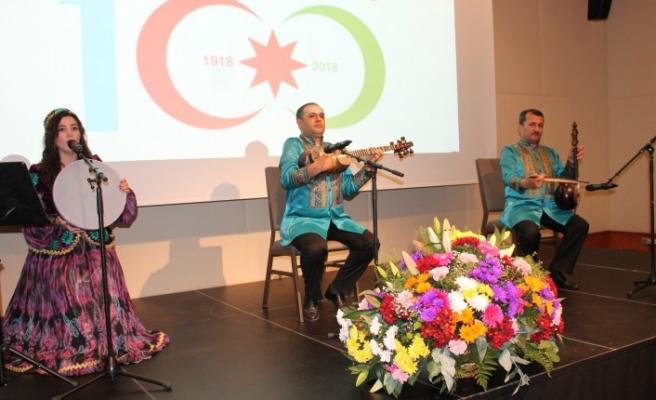 İsveç'te Azerbaycan'ın 100. Yıl Kutlaması