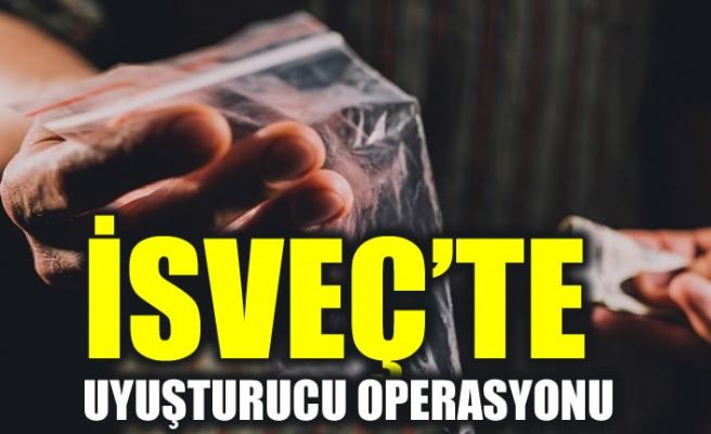 Upplands Väsby'de uyuşturucu kaçakçılarına operasyon