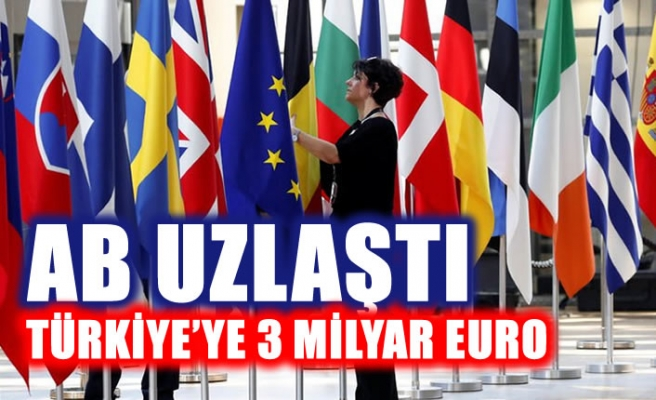 AB'den Türkiye'ye sığınmacılar için 3 milyar Euro
