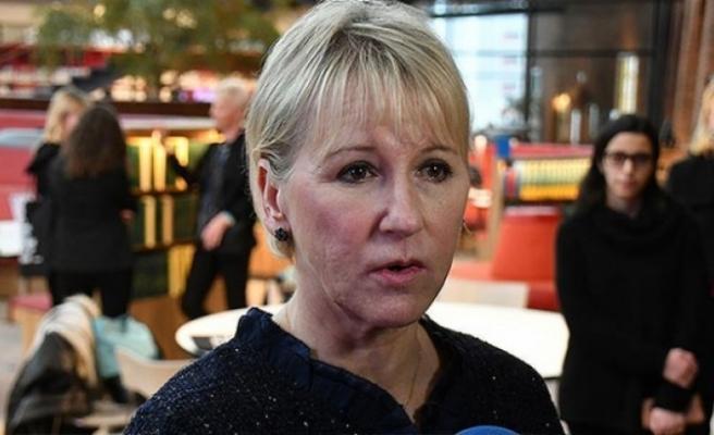 İsveç Dışişleri Bakanı Margot Wallström'dan 'soykırım' iddialarına şimdilik  ret