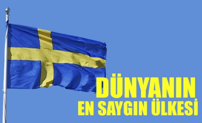 İsveç dünyanın en saygın ülkesi seçildi