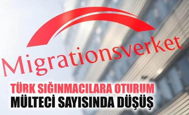 İsveç'e gelen mülteci sayısında azalma, Türk sığınmacılara oturumda artış