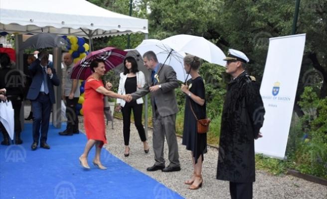 İsveç Milli Günü  Ankara'da kutlandı